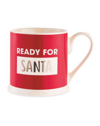 Ready For Santa Christmas Mug