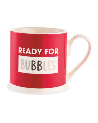Ready For Bubbles Christmas Mug