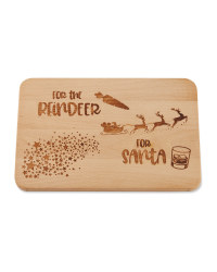 Xmas Eve Rectangle Serving Board