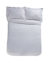 Light Grey Superking Duvet Set