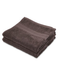 Slate Grey Luxury Hand Towel 2 Pack
