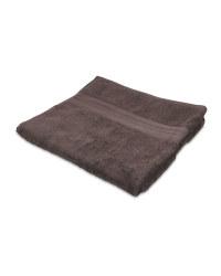 Slate Grey Luxury Bath Towel