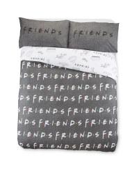 Friends Print Double Duvet Set