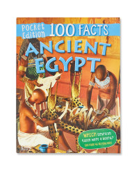 Ancient Egypt 100 Pocket Facts Book