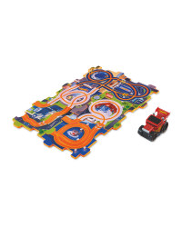 Hot Wheels Tile Track Playset