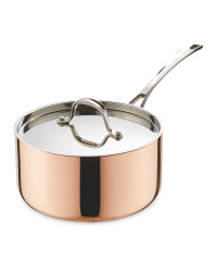 Medium Copper Saucepan 20cm