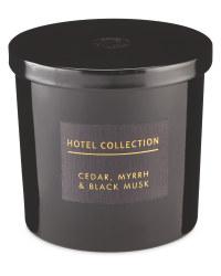 Cedar, Myrrh & Black Musk Candle