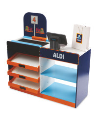 Little Town Wooden Aldi Supermarket
