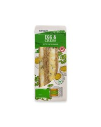 Egg & Cress Sandwich With Mayonnaise