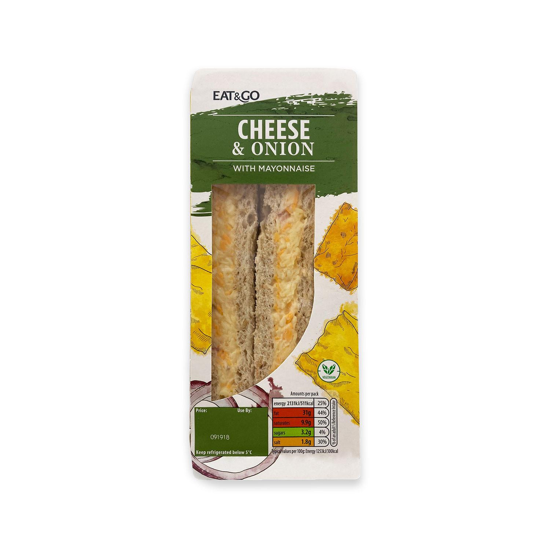 Cheese & Onion Sandwich