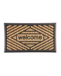 Welcome Outdoor Coir Mat