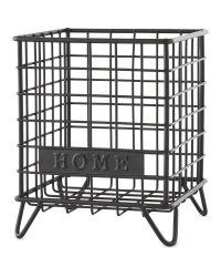 Black Home Mini Wire Storage