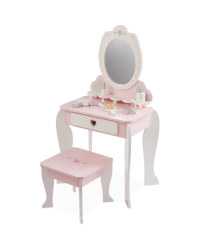 Toy Vanity Unit & Accessories - Pink