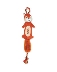 Pet Collection Squirrel Rope Dog Toy
