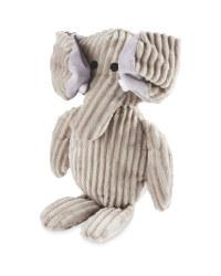 Elephant Plush Dog Toy