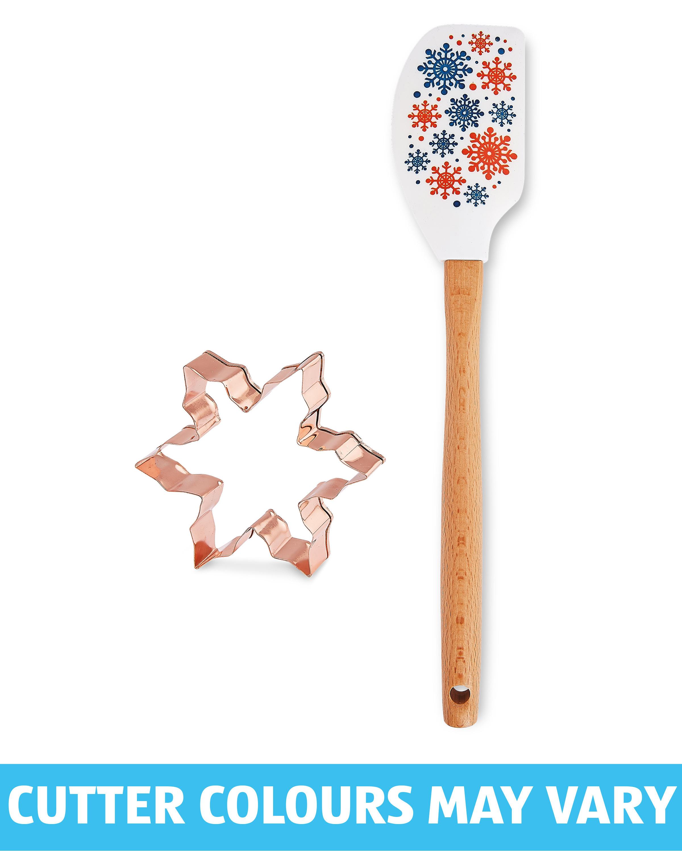 Snowflake Spatula & Cutter Gift Set
