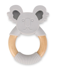 Mamia Koala Silicone & Wood Teether