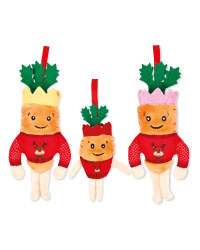 Carrot Kids in Jumper Decorations