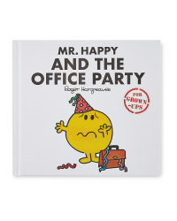 Mr Happy Office Party Adult's Book