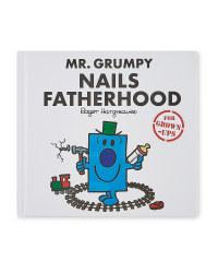 Mr Grumpy Fatherhood Adult's Book