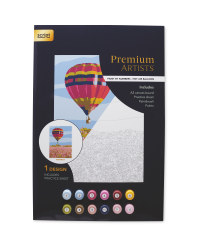 Hot Air Balloon Paint By Numbers Set