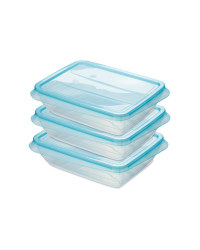 Teal 1000ML Fresh & Freeze Box 3 Pk
