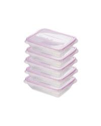 Pink 500ML Fresh & Freeze Box 5 Pack