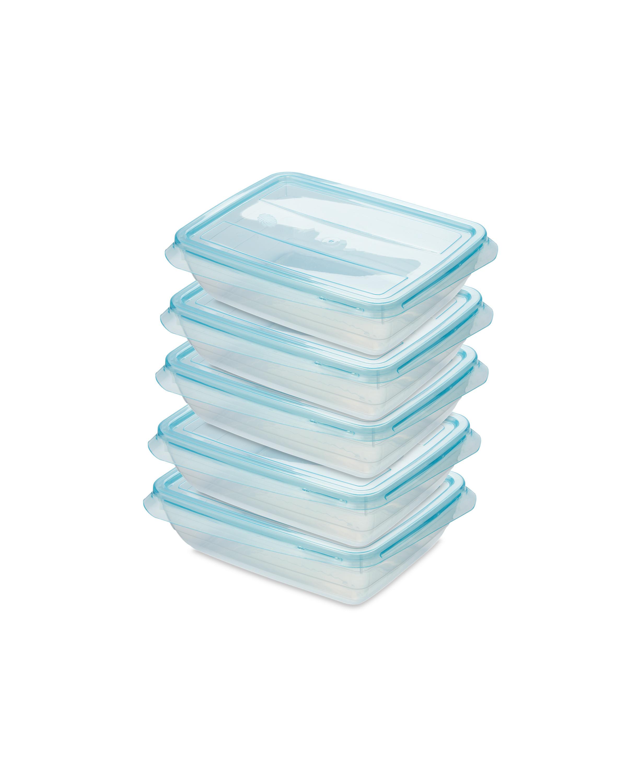 Teal 500ML Fresh & Freeze Box 5 Pack