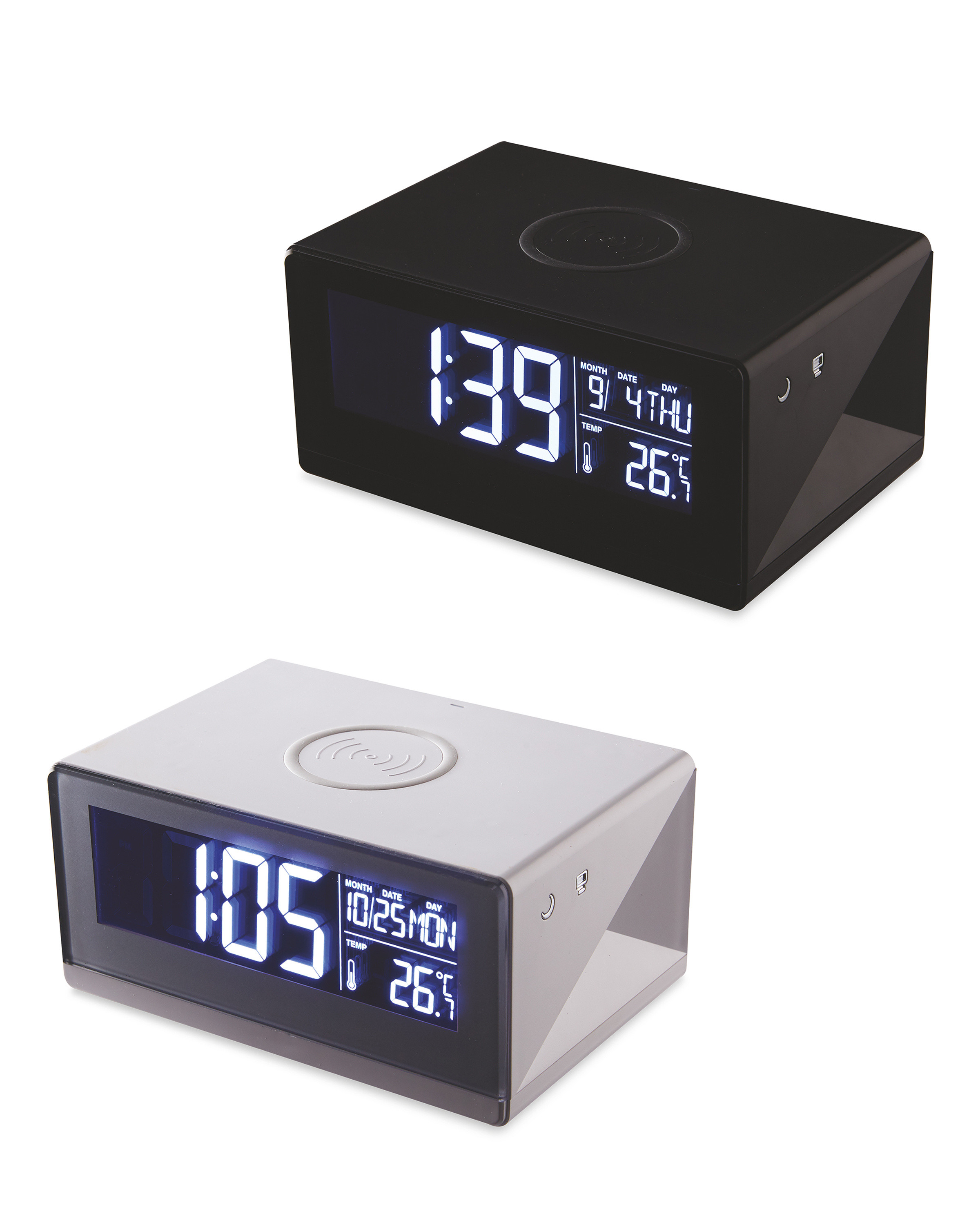 ALDI > General > Reka Wireless Charging Clock