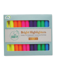 Bright Highlighters 24 Pack