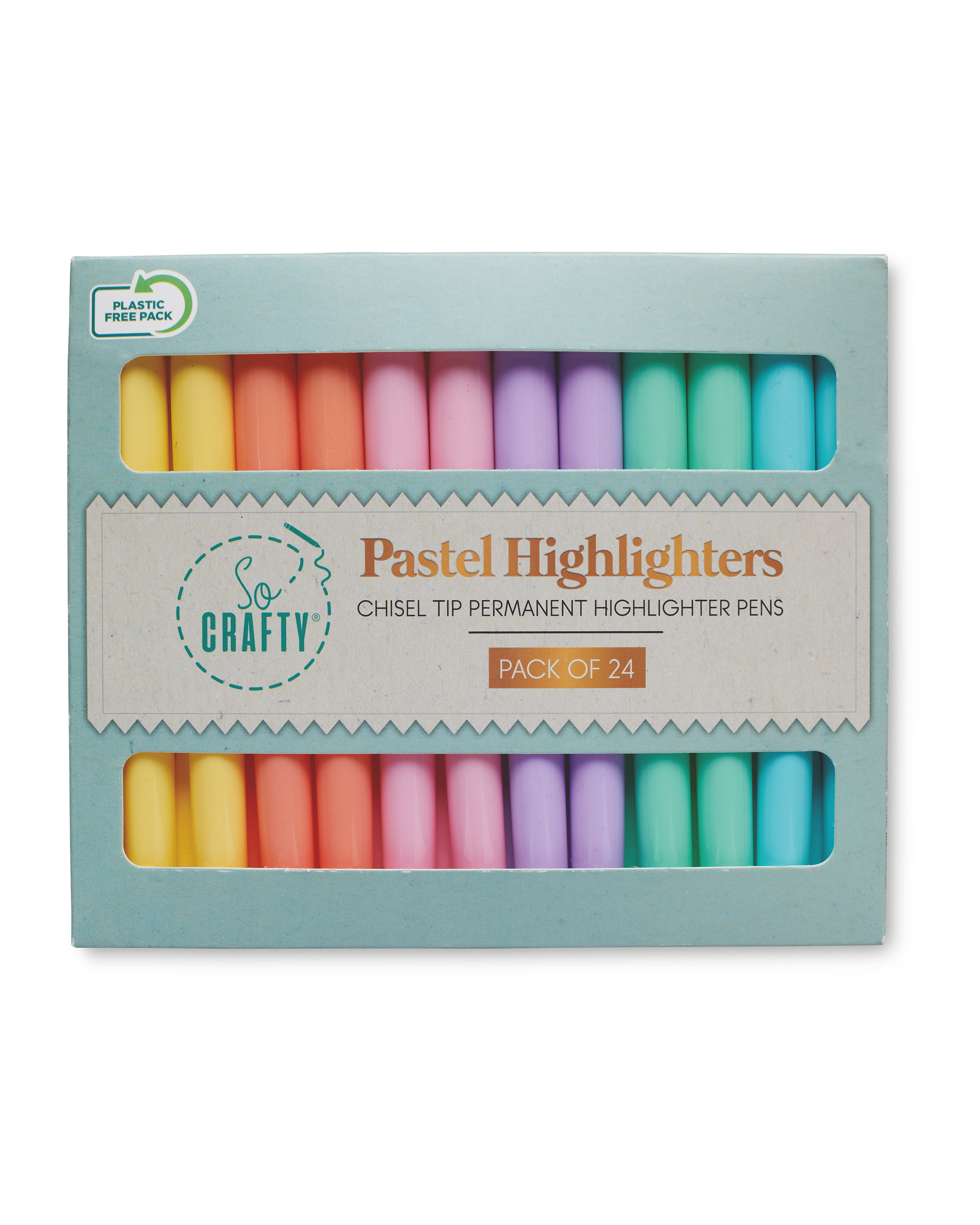 Pastel Highlighters 24 Pack