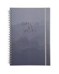 Script A4 Notebook Black