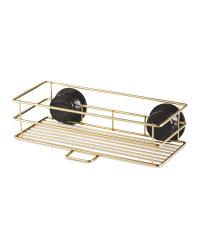 Kirkton House Gold Shower Basket