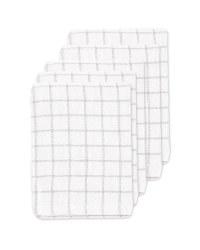 Grey Terry Tea Towels 5 Pack