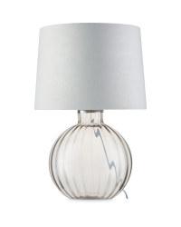 Kirkton House Smoked Glass Lamp
