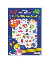 Baby Shark Puffy Sticker Book