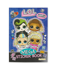 L.O.L. Surprise! Mega Sticker Book
