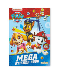 Paw Patrol Mega Sticker Book