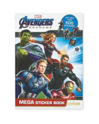 Marvel Avengers Mega Sticker Book