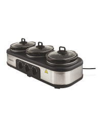 Ambiano Triple Slow Cooker