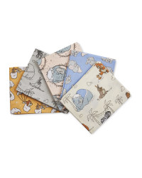 Baby Dumbo Fat Quarters 5 Pack