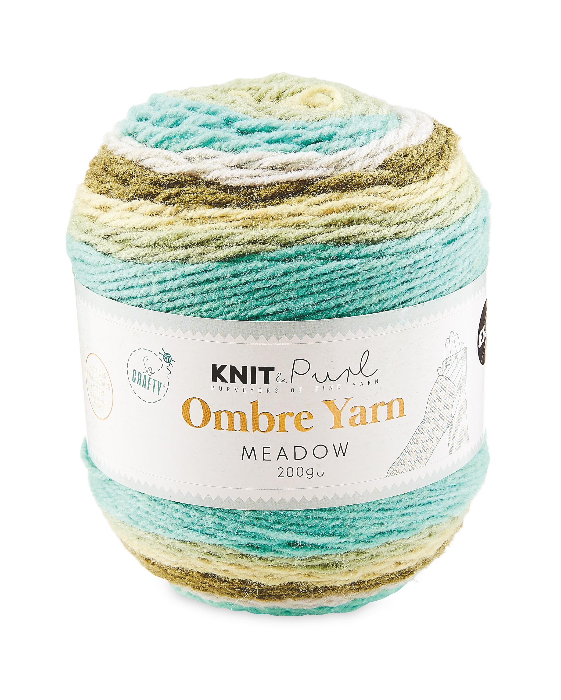 So Crafty Meadow Ombre Yarn