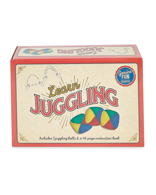 Learn Juggling Retro Box