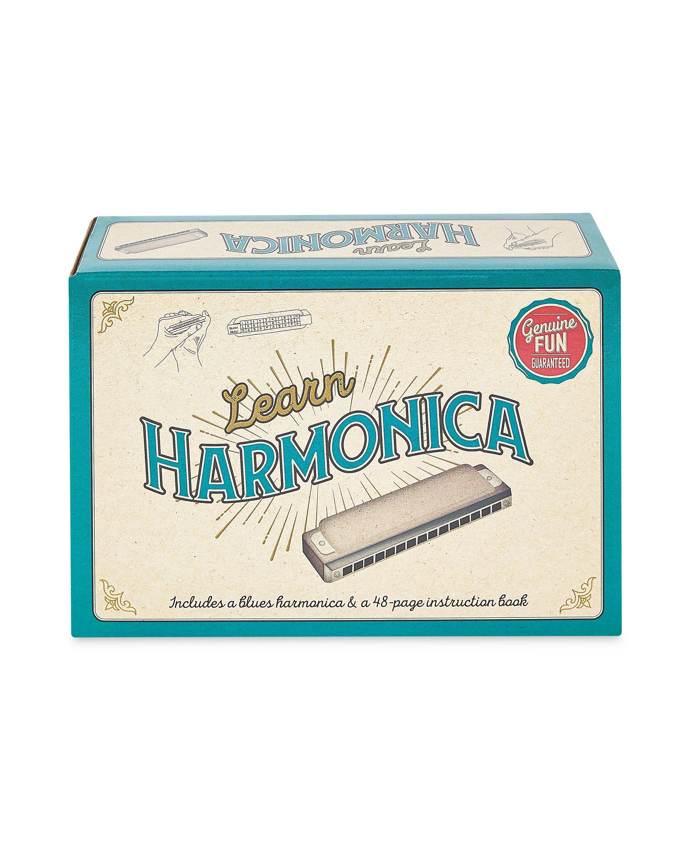 Learn Harmonica Retro Box