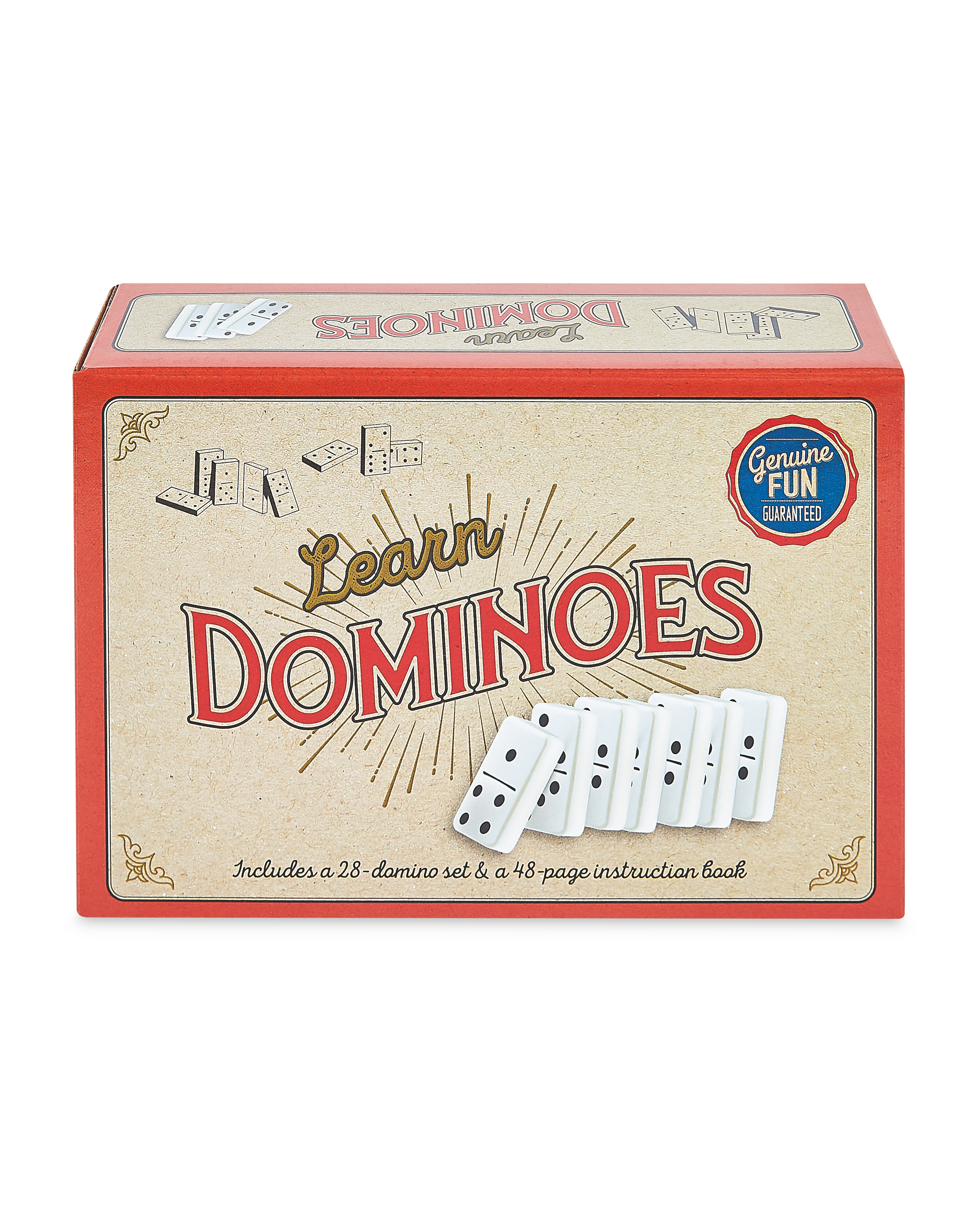 Learn Dominoes Retro Box