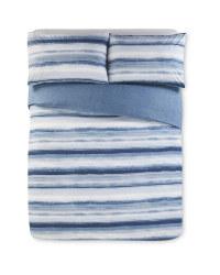 Stripes Print King Size Duvet Set