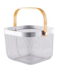 Dark Grey Kitchen Storage Basket