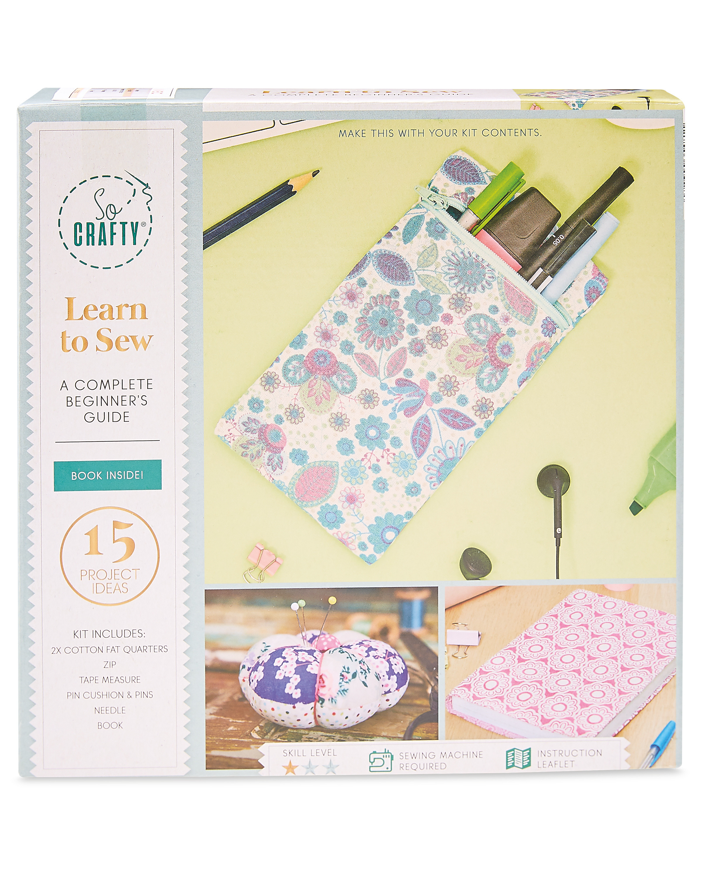 So Crafty Learn To Sew Kit