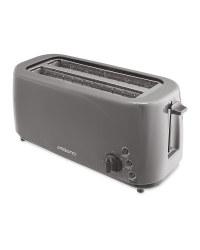 Ambiano Grey Long Slot Toaster
