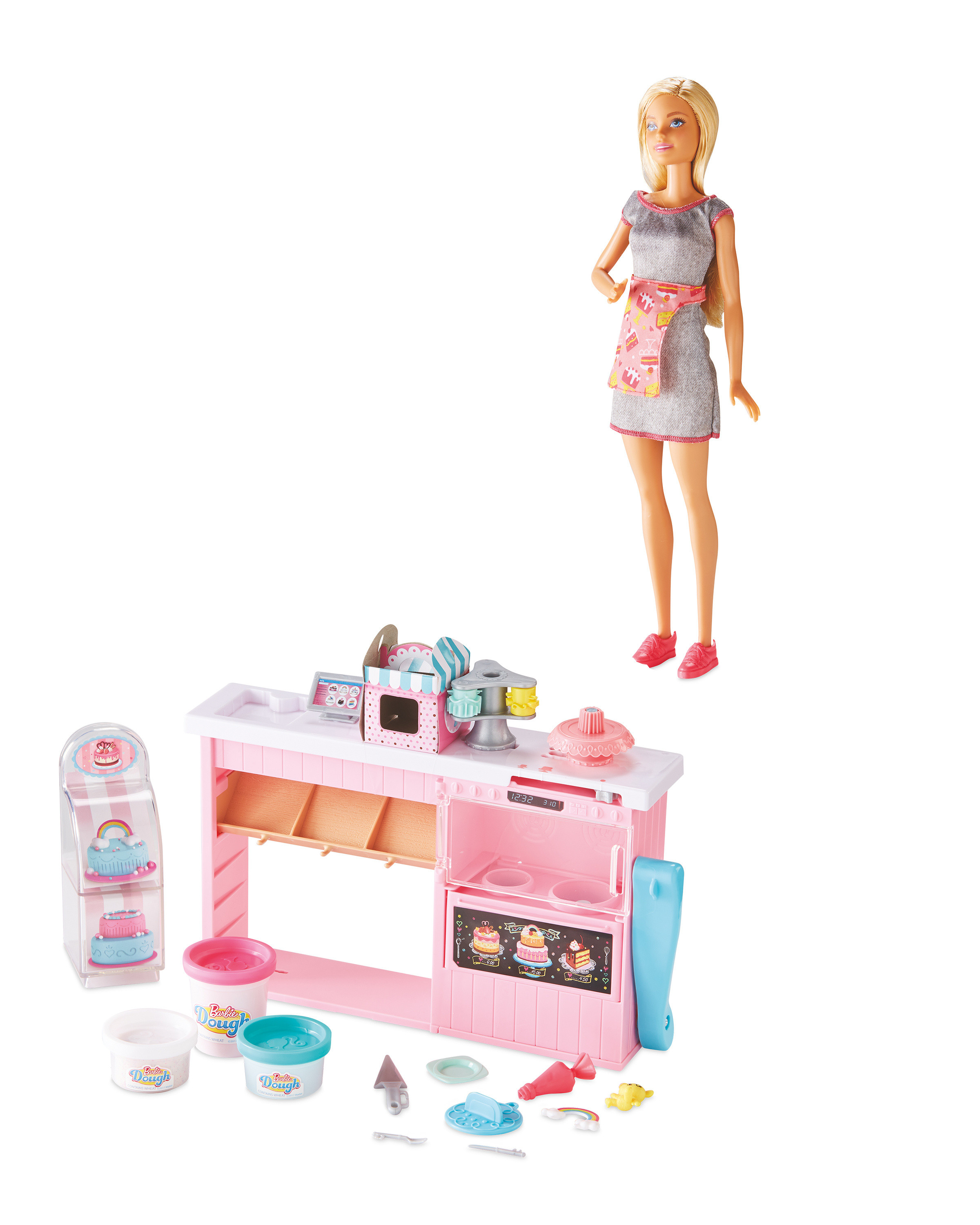 Barbie Cake Decorating Play Set